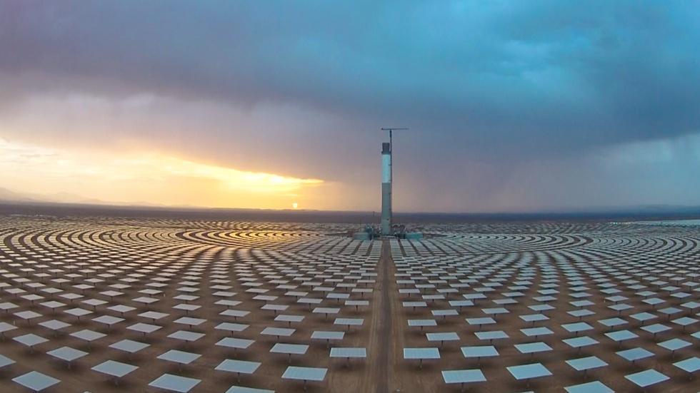 Morocco turns the Sahara desert into a solar energy oasis image