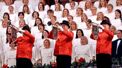 Christmas with the Mormon Tabernacle Choir -- Unfold, Ye Portals, from The Redemption