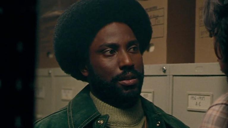 "Flicks: John David Washington for ""BlacKkKlansman"""