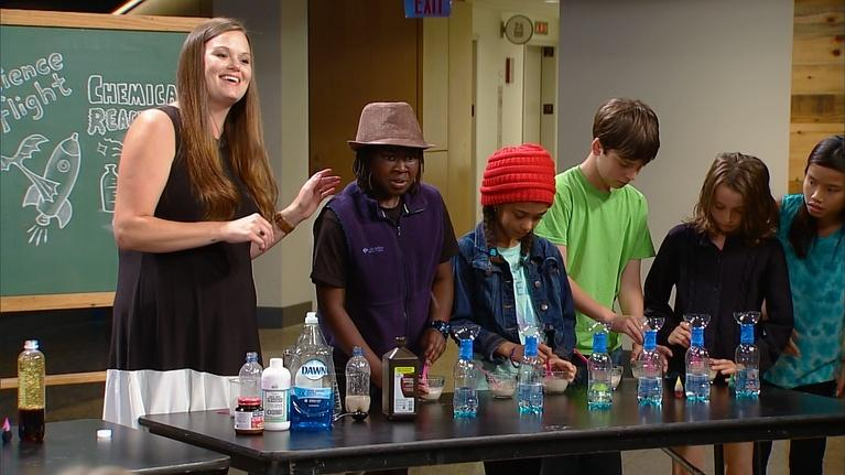 Hands-On Science: Matter, Flight and Chemical Reactions