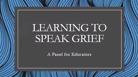 WVIA Special Presentations -- Learning to Speak Grief