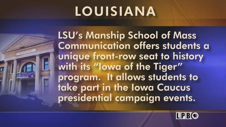 Louisiana: The State We're In: Political Prospective, Flu Fight: The Next Wave, Coral & Cli