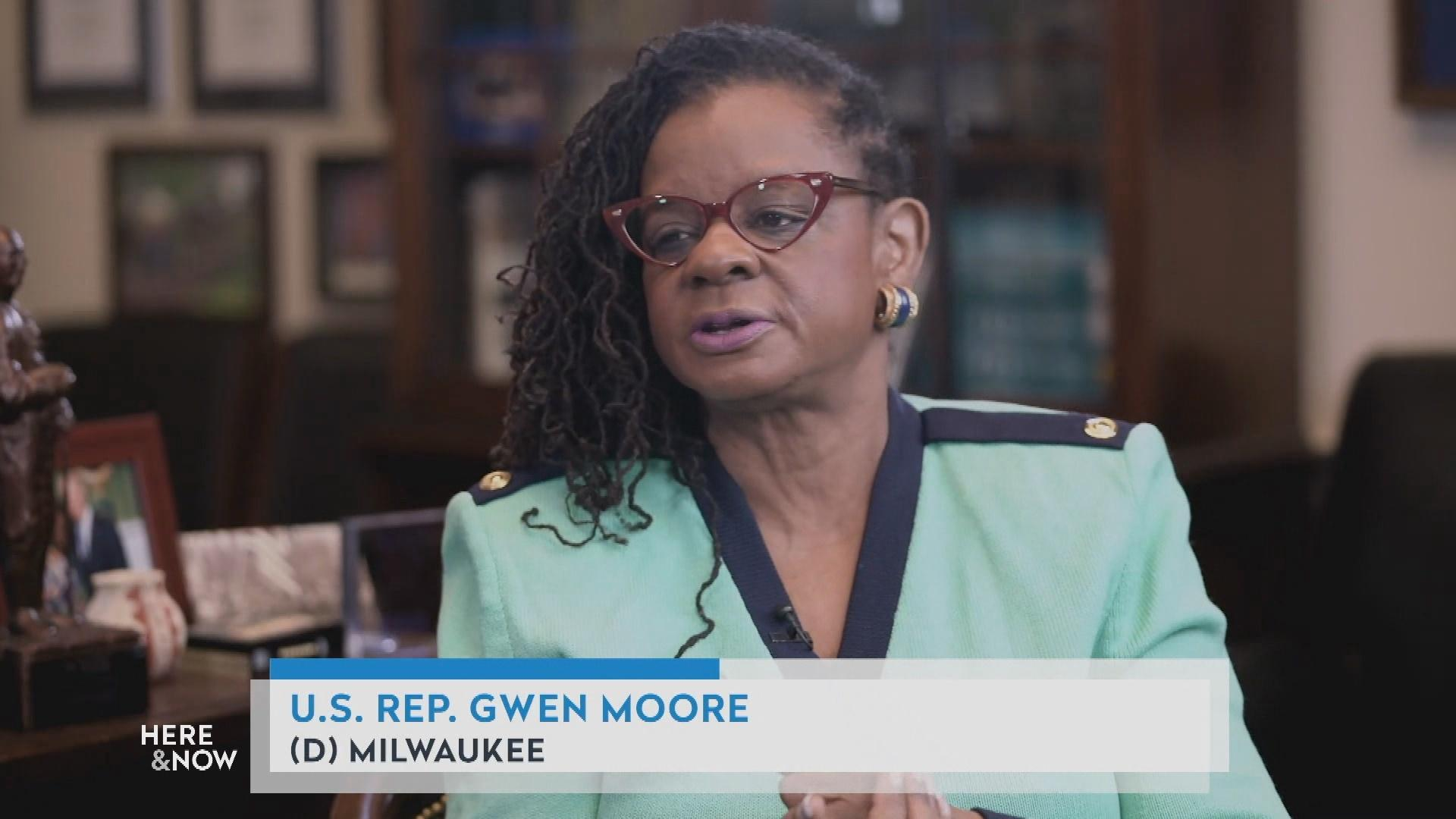 Milwaukee Congresswoman Gwen Moore on Women's Suffrage