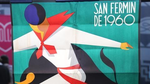 Appraisal: 1960 Pamplona San Fermín Festival Poster