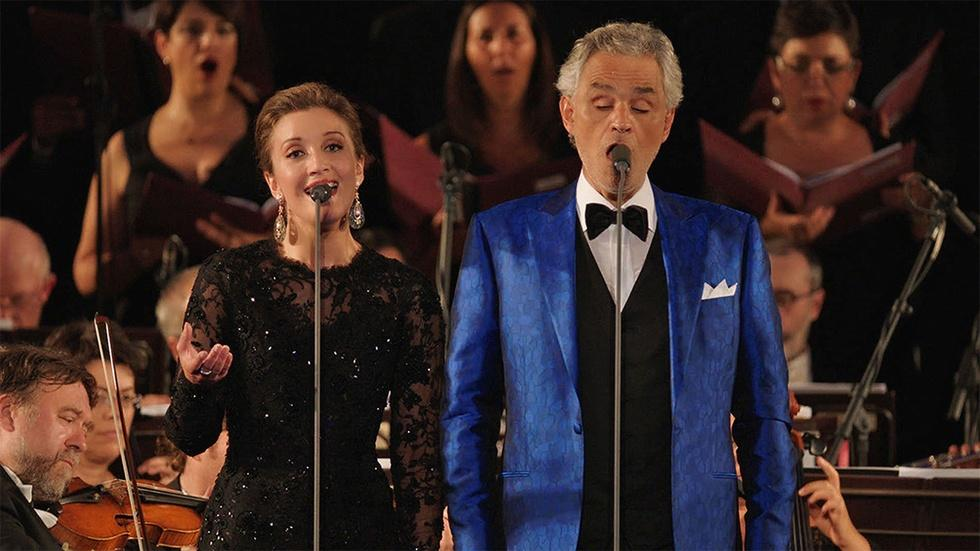 S44 Ep22: Time to Say Goodbye: Andrea Bocelli and Carly Paol image