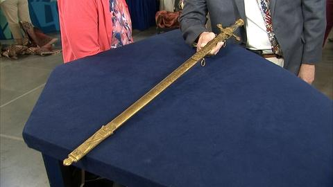 Antiques Roadshow -- S21 Ep13: Appraisal: Engraved Ames Sword, ca. 1845