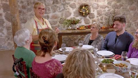 Lidia Celebrates America -- A Celebratory Meal