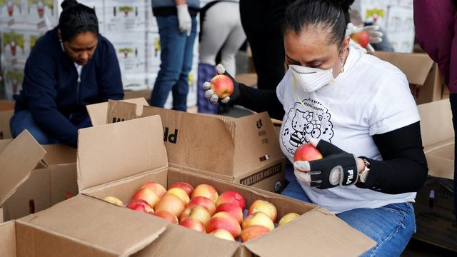 How food bank are trying to cope with a surge in demand