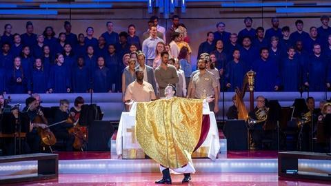 "Great Performances -- The Origin of Leonard Bernstein's ""Mass"""