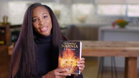 The Great American Read -- Venus Williams Discusses The Chronicles of Narnia