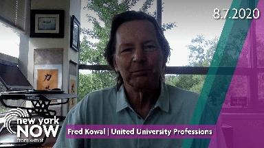 Fred Kowal on Protecting SUNY Students from COVID-19