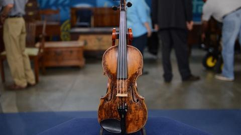 Antiques Roadshow -- S21 Ep12: Appraisal: German Violin, ca. 1750