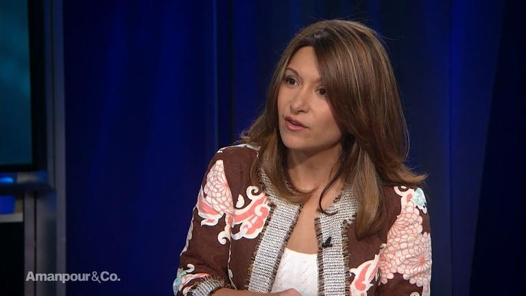 """Amanpour and Company: Dina Nayeri Discusses the """"Send Her Back"""" Chants"""