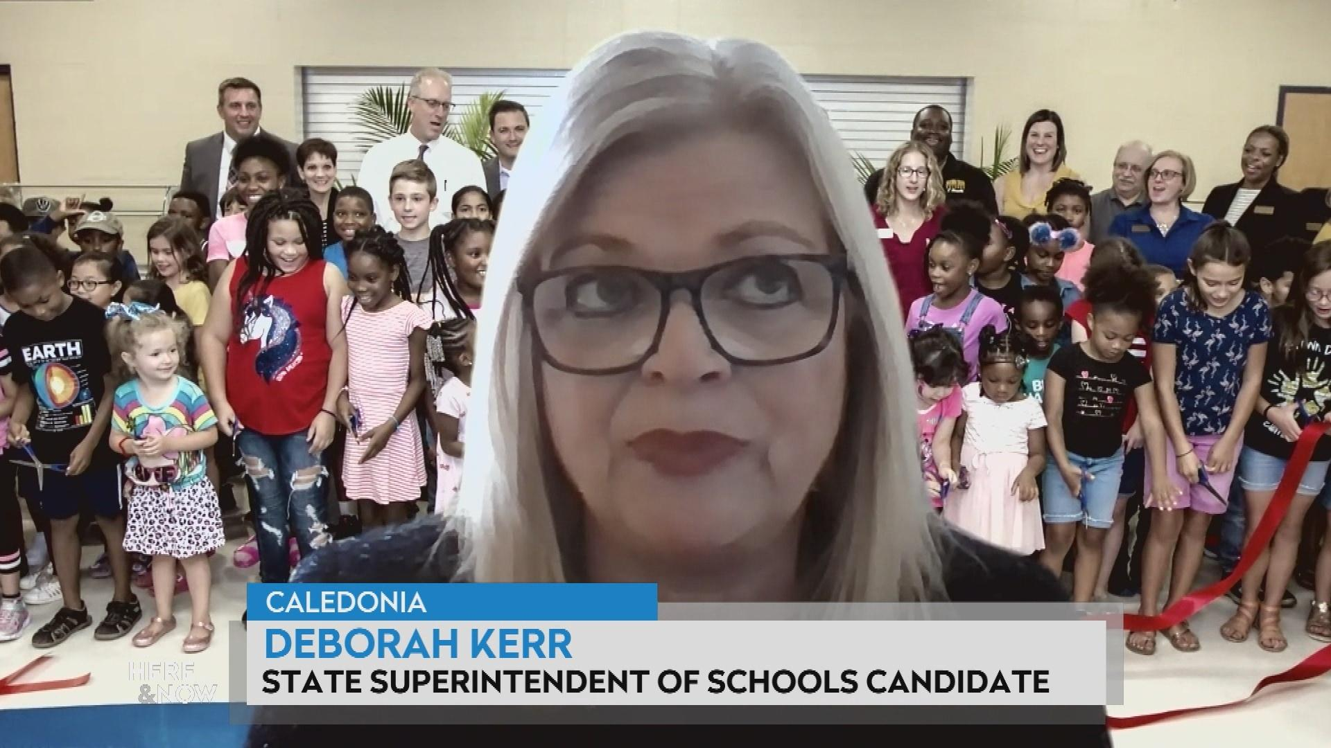 Kerr on Race for Superintendent