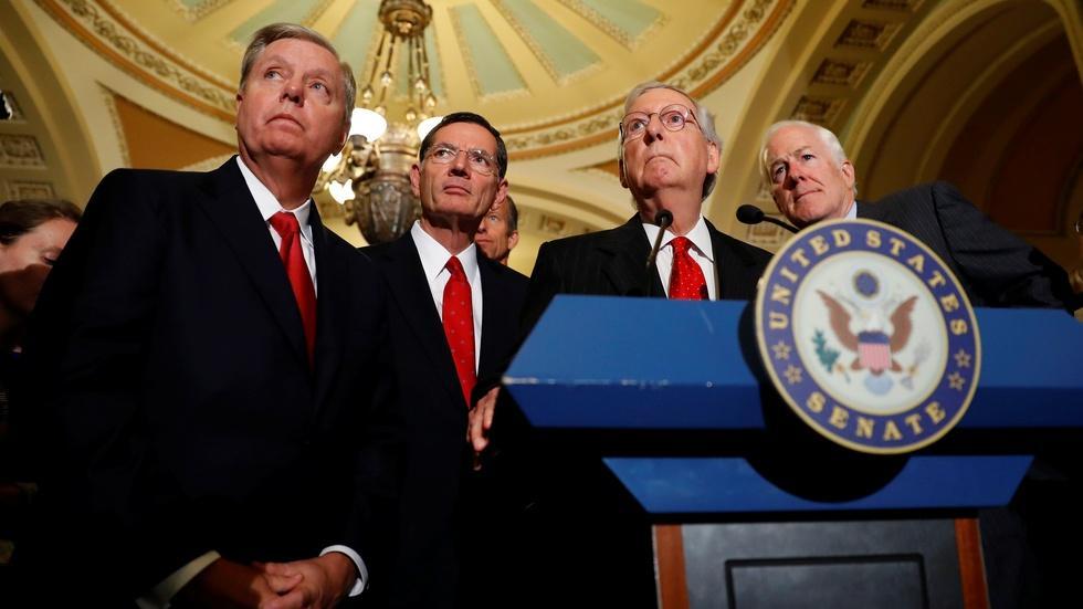 News Wrap: Senate GOP abandons latest Obamacare replacement image