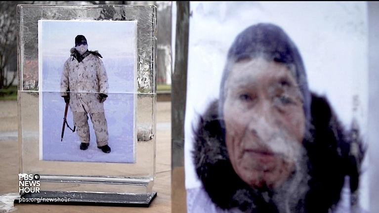 PBS NewsHour: Photography that melts ice -- and shifts consciousness