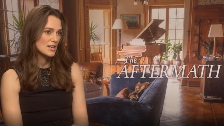 "Flicks: Keira Knightley for ""The Aftermath"""