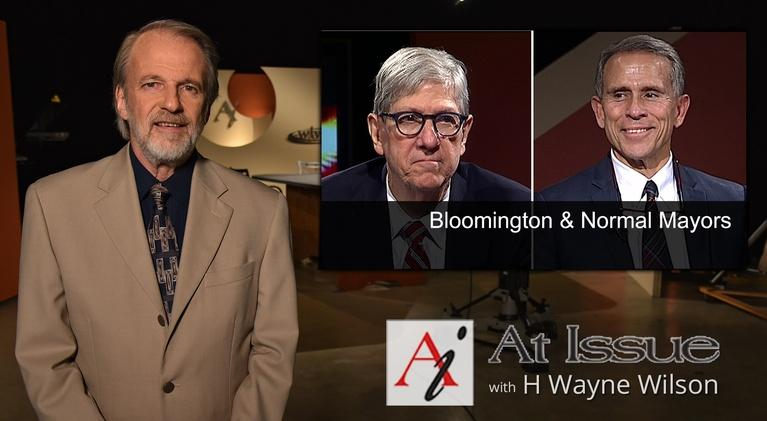 At Issue: S31 E21: Bloomington/Normal Mayors