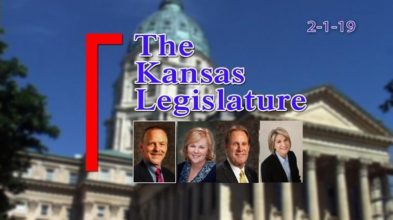 The Kansas Legislature: The Kansas Legislature Show  2019-02-01