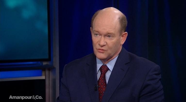 Amanpour and Company: Sen. Chris Coons on the Border Wall