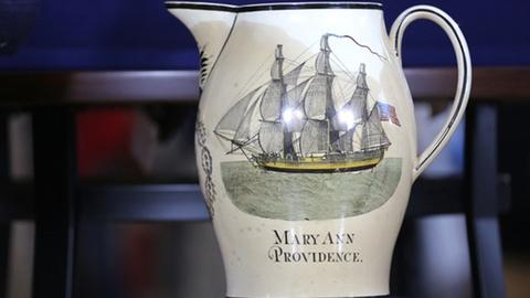 Antiques Roadshow -- Appraisal: Trading Ship Documents & Pitcher, ca. 1816
