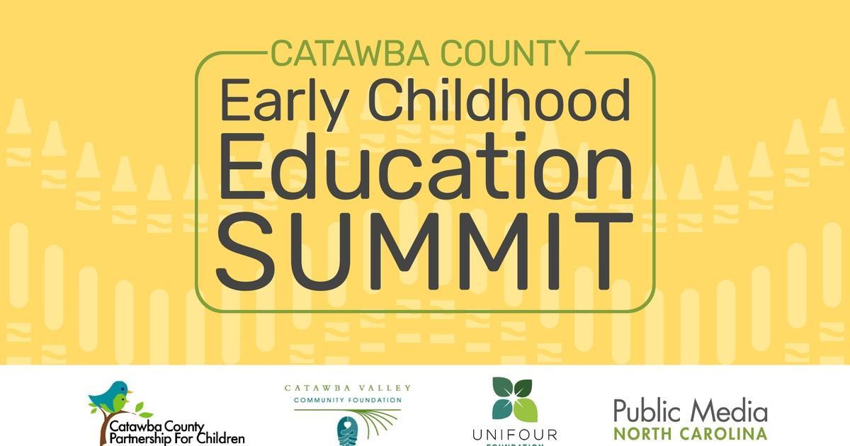 Catawba Early Childhood Education Summit Unc Tv Live Streaming
