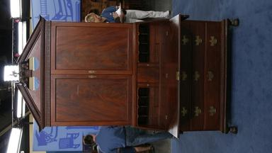 Appraisal: 18th-Century New York Desk and Bookcase