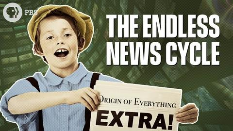 Origin of Everything -- When did the News Start?