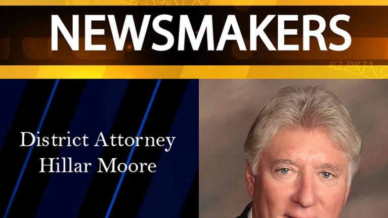 Newsmakers: 05/10/17 - District Attorney Hillar Moore