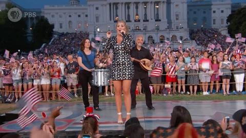 "A Capitol Fourth -- Lauren Alaina Performs ""Road Less Traveled"""