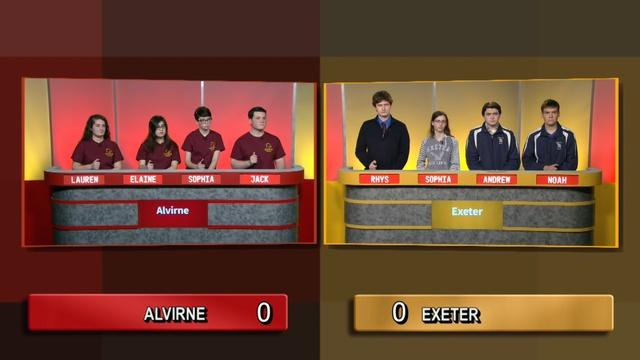 Exeter Vs Alvirne