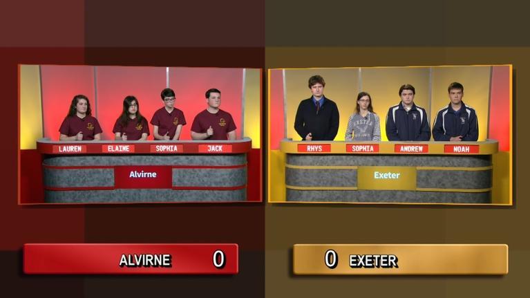 Granite State Challenge: Exeter Vs Alvirne