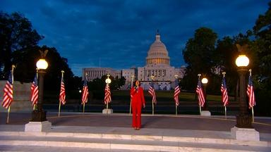Mandy Gonzalez Performs the National Anthem