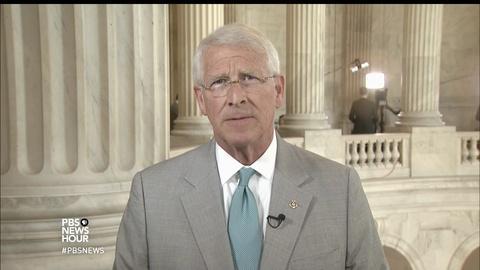 PBS NewsHour -- Sen. Wicker: Trump believes health bill can get 50 votes