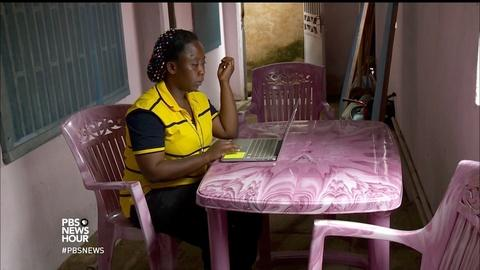 PBS NewsHour -- How human traffickers trap women into domestic servitude