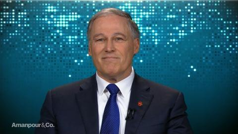 "Amanpour and Company -- Jay Inslee on Why He Wants to Be Known as ""The Climate Guy"""