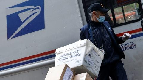 Pandemic boosts labor, risks for mail and delivery workers