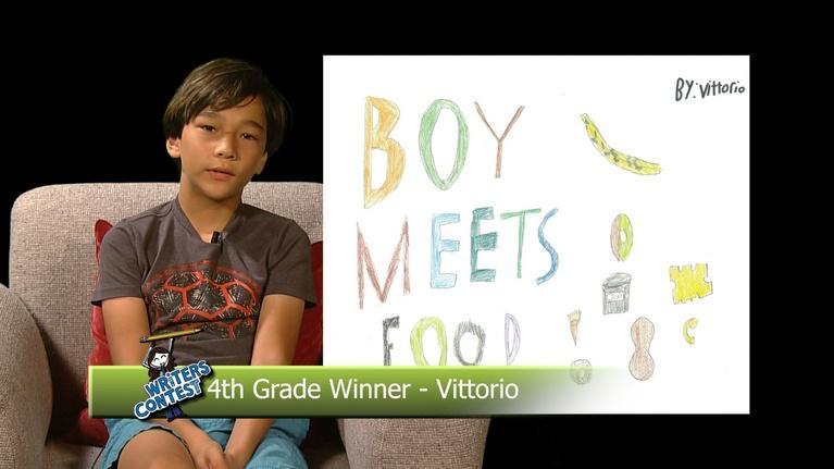 NHPBS Kids Writers Contest: Boy Meets Food