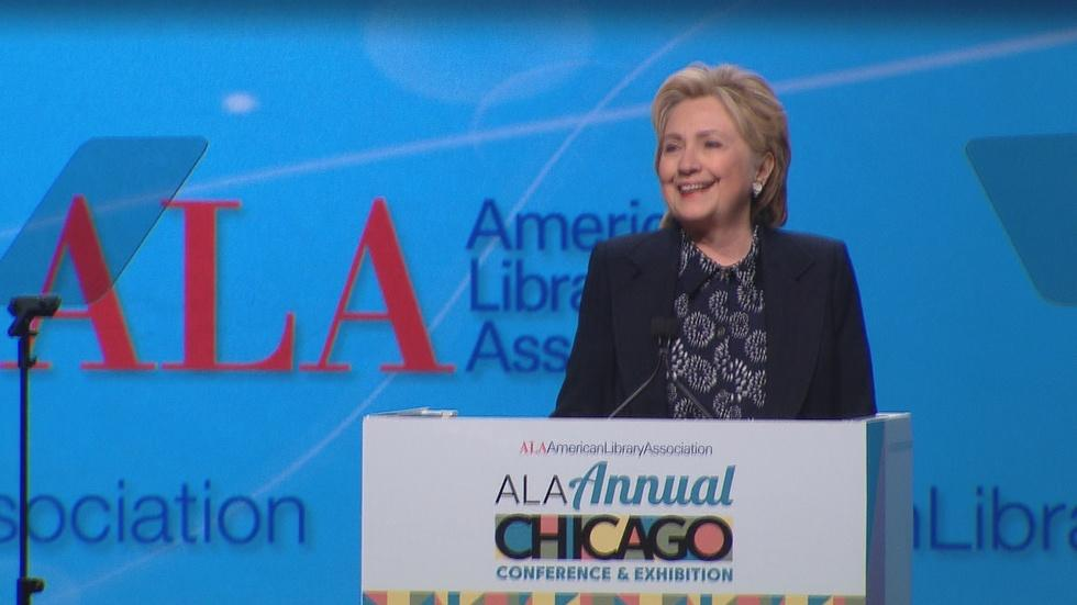 Web Extra: Hillary Clinton's Full Speech in Chicago image