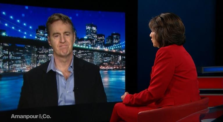 """Amanpour and Company: Dave Cullen, Author of """"Parkland: Birth of a Movement"""""""