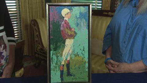 "Antiques Roadshow -- Appraisal: 1964 LeRoy Neiman ""Jockey Bill"" Painting"