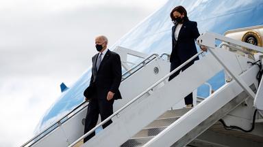 News Wrap: Biden, Harris meet Asian American leaders in GA