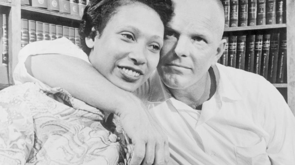 Interracial couples challenge white supremacy in 'Loving' image