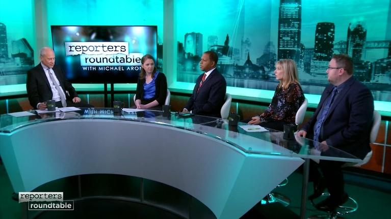 Reporters Roundtable: The first snowstorm of the season