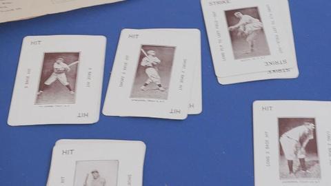 Antiques Roadshow -- Appraisal: Allstar Baseball Card Set Game, ca. 1914