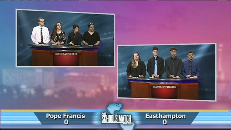 As Schools Match Wits: Quarterfinal #2: Pope Francis Prep vs. Easthampton High