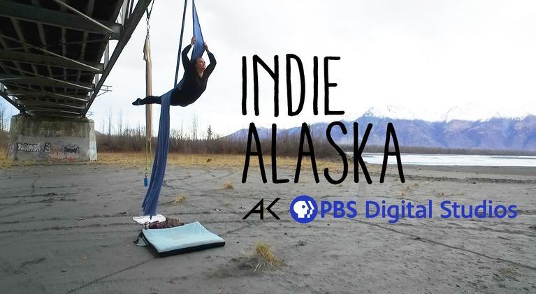 Indie Alaska: This Aerial Silk Dancer Performs in the Alaskan Outdoors