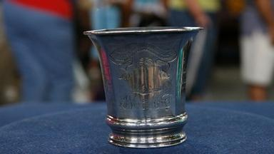 Appraisal: Commemorative Revolutionary War Cup, ca. 1825