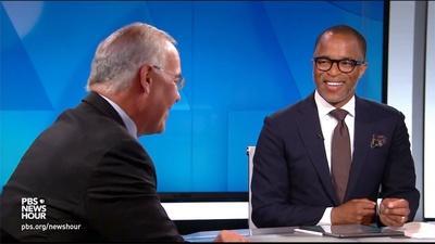 PBS NewsHour   Brooks and Capehart on Trump emails to DOJ, US-Russia summit