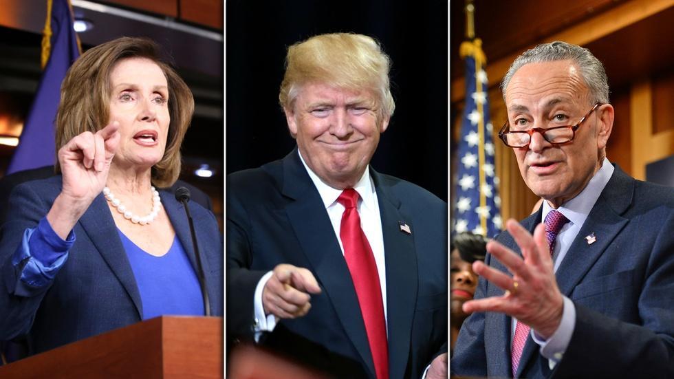 Where do Trump's Democratic negotiations leave Republicans image
